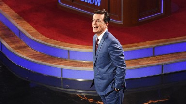 Stephen Colbert responds to #FireColbert backlash