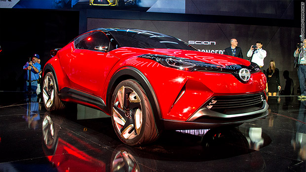 Cool cars from the 2015 L.A. Auto Show