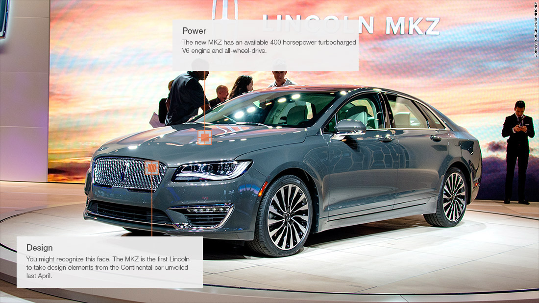 2017 Lincoln MKZ - Cool cars from the 2015 Los Angeles Auto Show ...