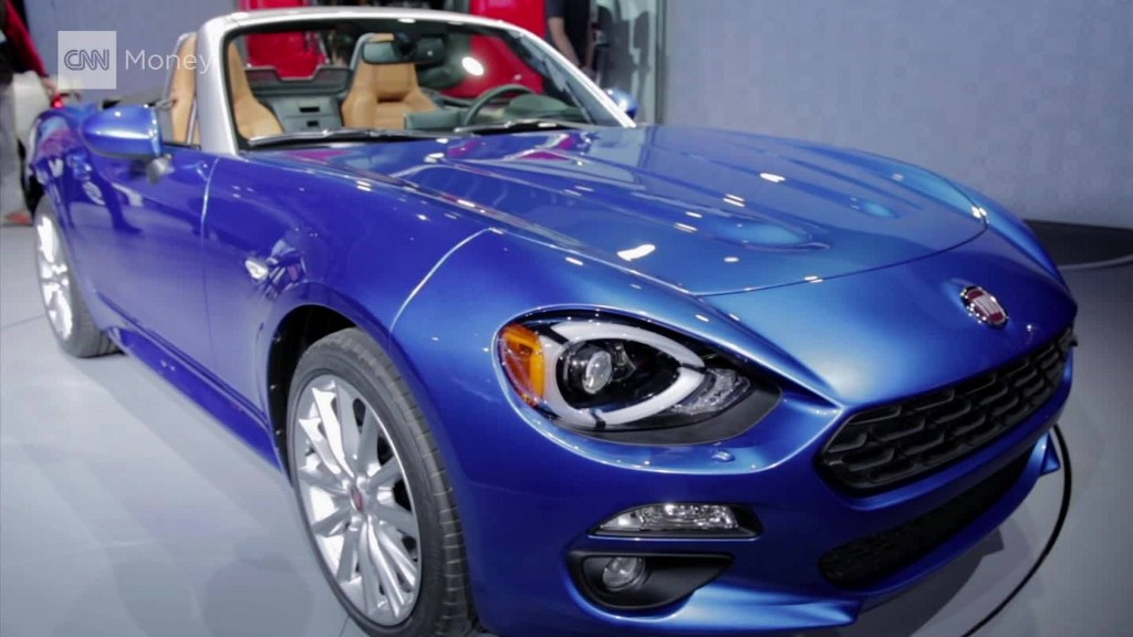 Fiat revives the 124 Spider