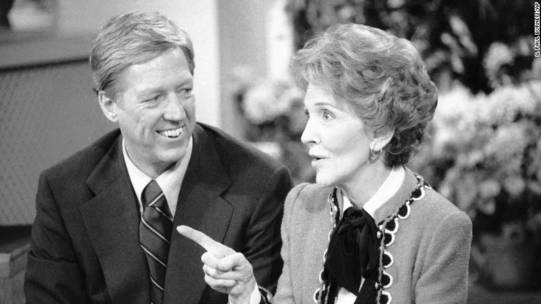 gma history nancy reagan
