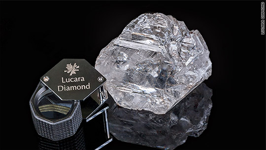 Diamond of the century too big to value