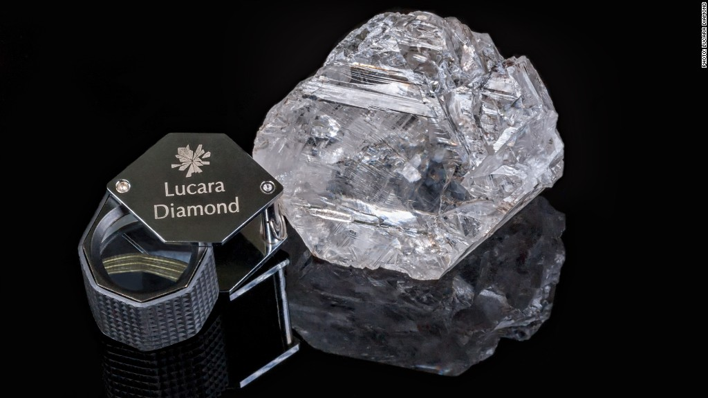 Huge diamond is second biggest ever found