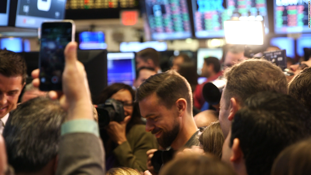 Dorsey unfazed by Square's lower IPO price