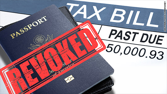 Overdue taxes? You could lose your U.S. passport