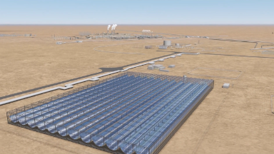 Solar energy to power... oil fields?