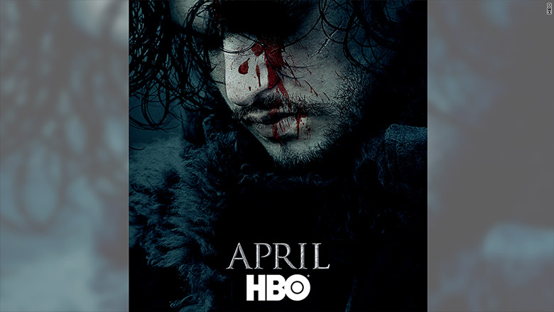 jon snow april hbo
