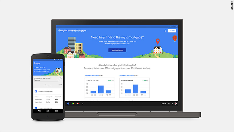 Google could be your next mortgage broker