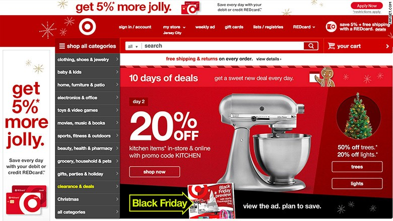 Target going 'all in' for Cyber Monday - Nov. 23, 2015