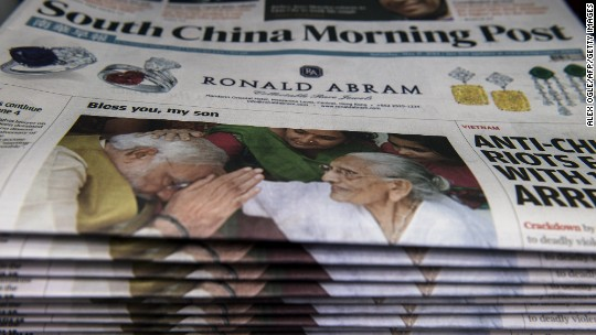 Alibaba's Jack Ma said to be in talks to buy stake in South China Morning Post