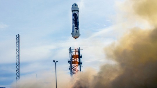 Jeff Bezos' rocket lands safely after space flight