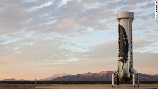 Jeff Bezos sends rocket to space and back: See photos of the mission