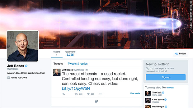 Bezos tweets! Twitter feud with Warren Buffett next?