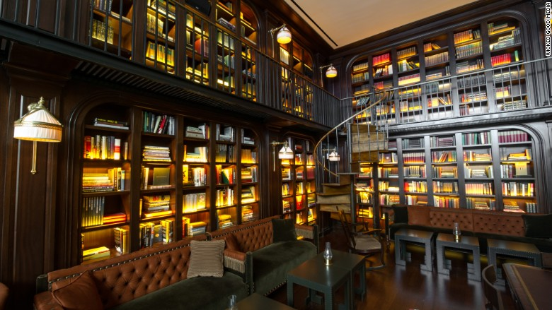 thelibrary bar
