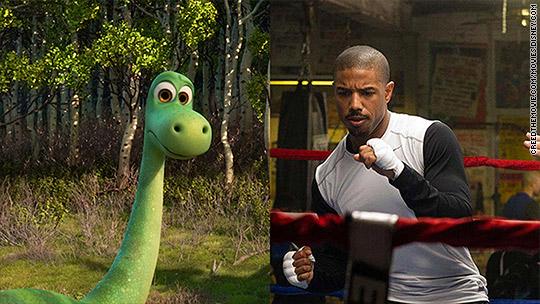 'Creed,' 'Good Dinosaur' part of weekend movie feast
