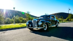 Driving the ultimate in '50s Mercedes-Benz style