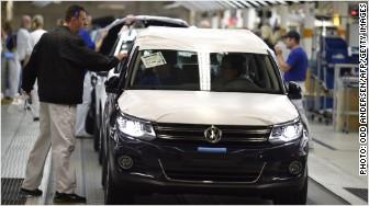 volkswagen production line