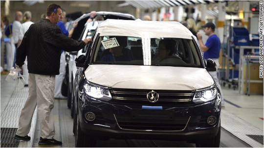 Volkswagen profits back on track, despite scandal