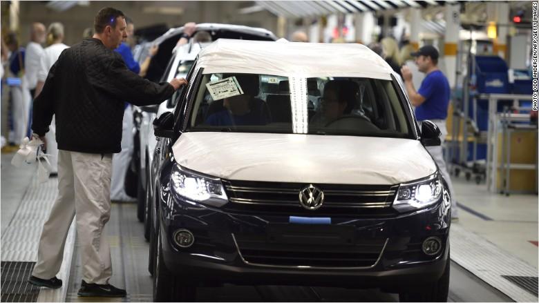 Volkswagen profits back on track, despite scandal