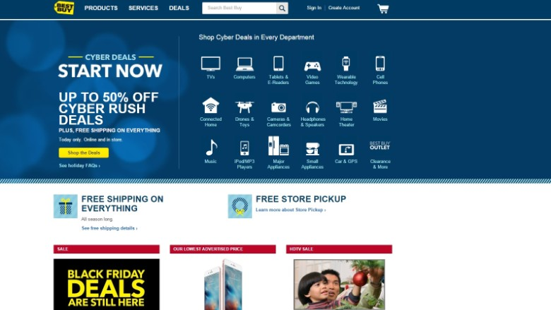 Best Buy launches Cyber Week sales