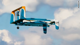 amazon air drone flying
