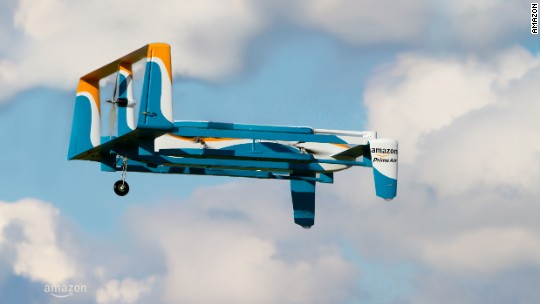 New Amazon drone video via Jeremy Clarkson