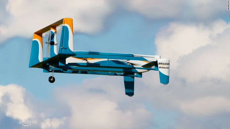 Amazon to test drone delivery in the UK