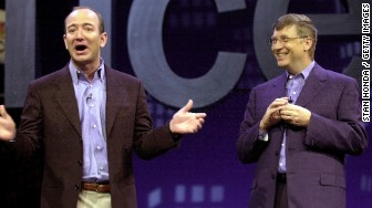 bill gates jeff bezos