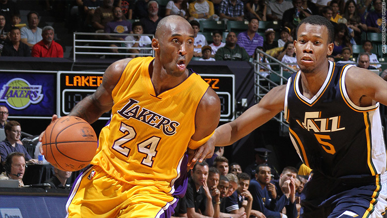 This is what it'll cost to watch Kobe's last game - Nov. 30, 2015