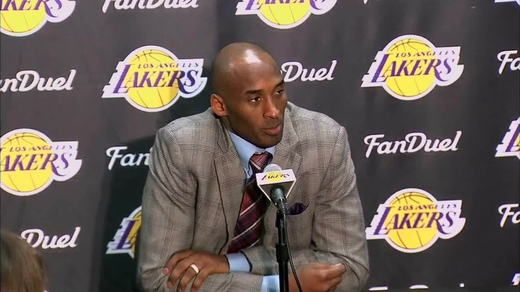 Kobe Bryant announces he will retire