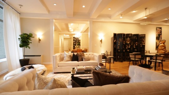 How to stage a multi-million-dollar apartment