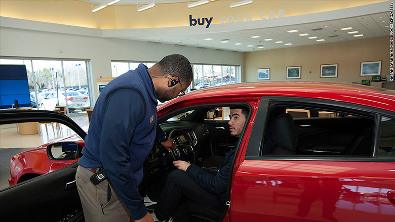 Car sales race toward record year