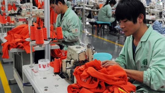 China factory activity slumps to three-year low