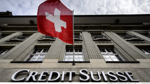 Credit Suisse shares crash to 24-year low