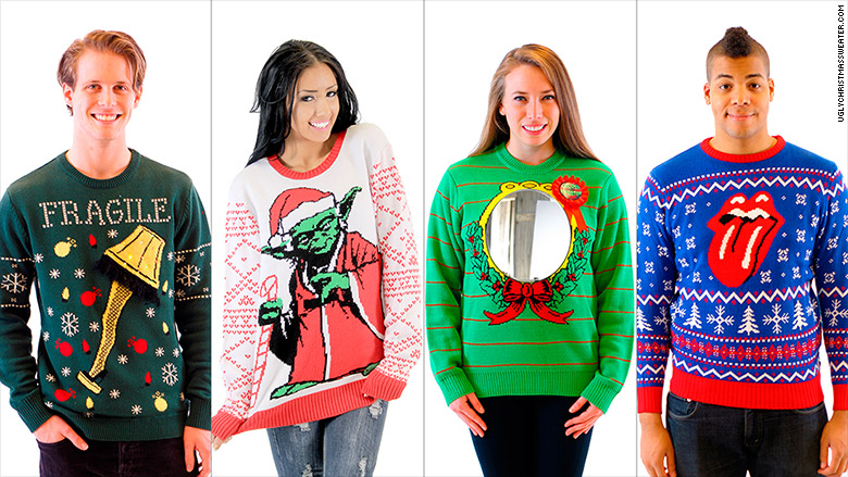 These ugly Christmas sweaters are worth millions - Dec. 2, 2015