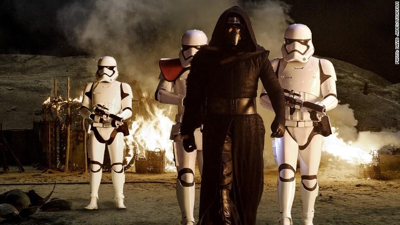 star wars kylo ren stormtroopers