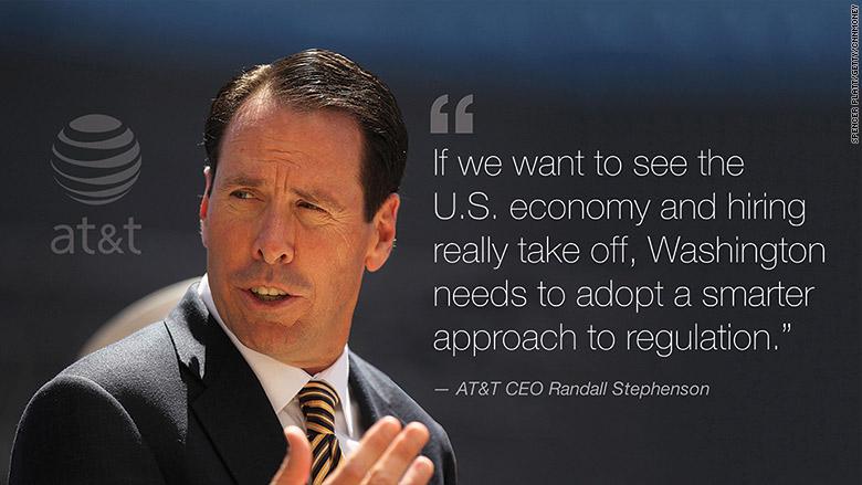 Randall Stephenson CEO AT&T
