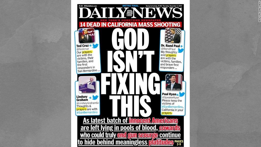 Are New York Daily News covers too extreme?