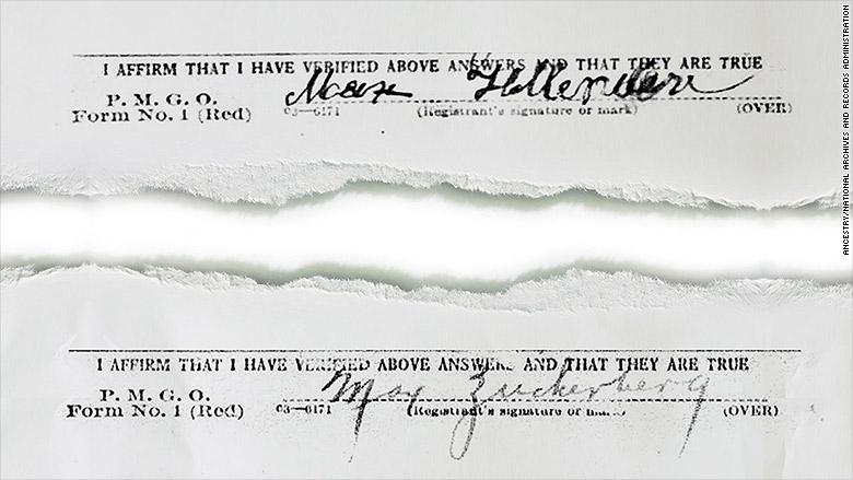 zuckerberg family signature
