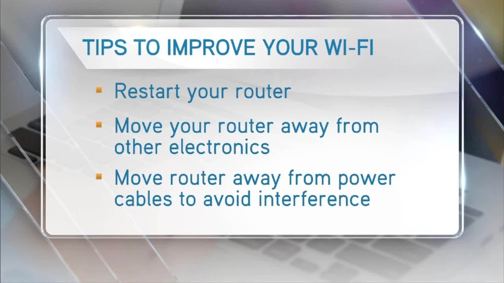 3 tips to fix your Wi-Fi problems