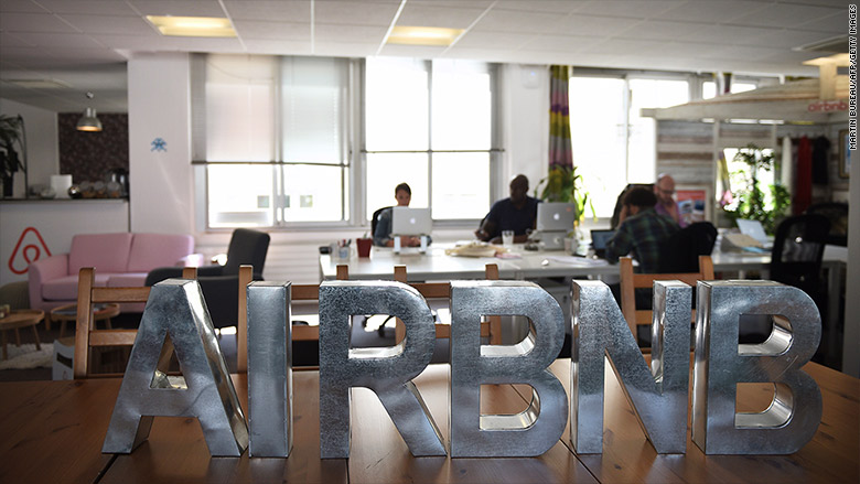 airbnb office inside