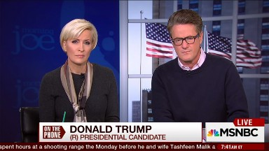 Scarborough, Brzezinski revise history, claim they didn't accommodate Trump