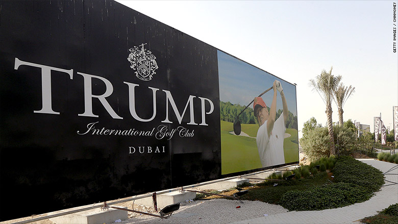 trump golf club dubai