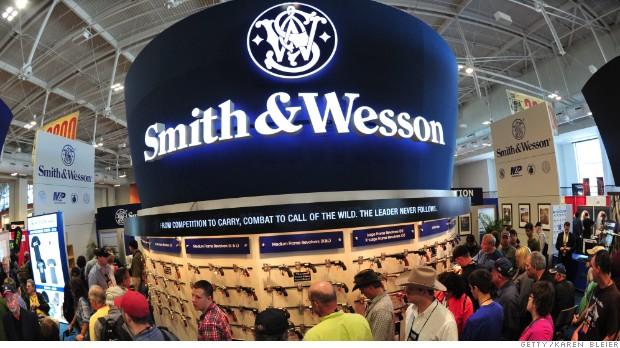 Gun boom: Smith & Wesson profits double, sales soar 40%