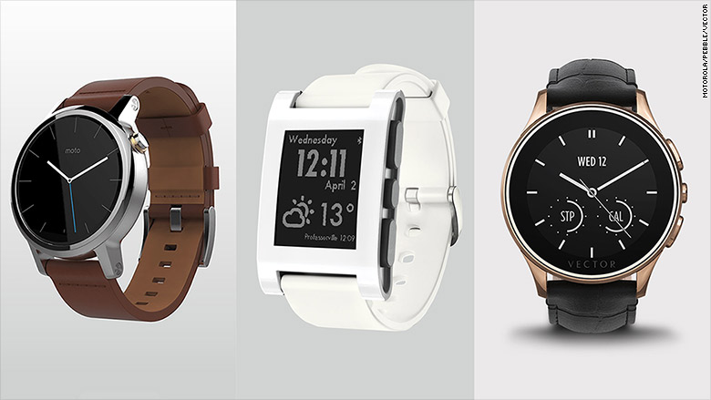smartwatch simple screens