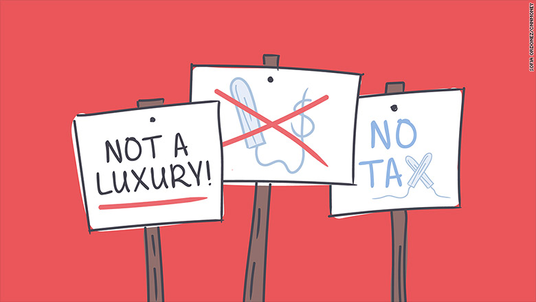 tampon luxury tax