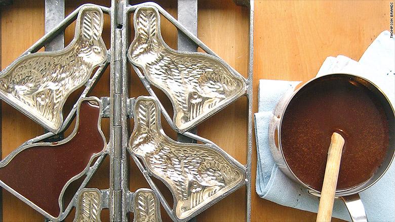 thompson brand chocolate mold