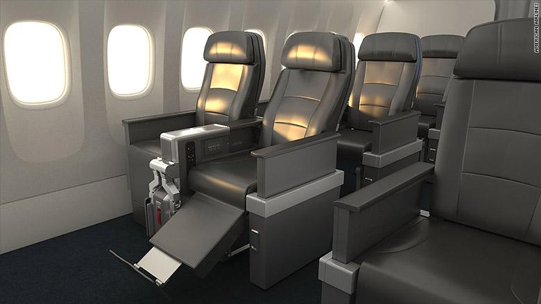 american airlines premium seat