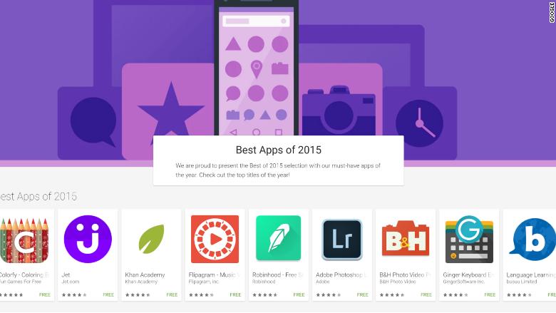 best apps of 2015