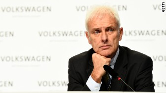 Volkswagen CEO Matthias Mueller